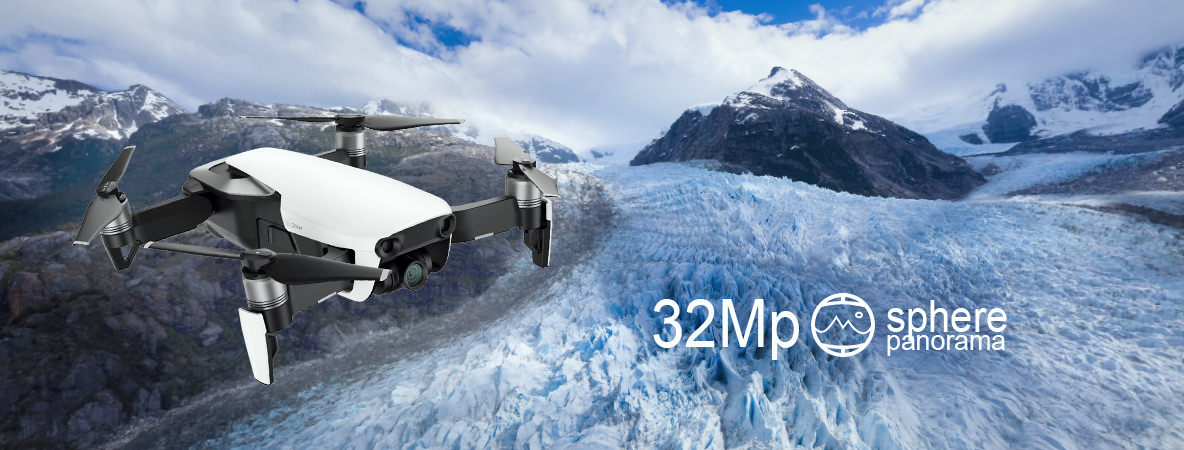 Квадрокоптер DJI Mavic Air (Onyx Black, черный) 32 mp