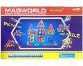 Магнитный конструктор MagWorld 91 деталь - купить недорого в Москве в интернет-магазине