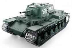 Радиоуправляемый танк Heng Long Russia КВ-1 Pro масштаб 1:16 2.4G - 3878-1Pro V6.0