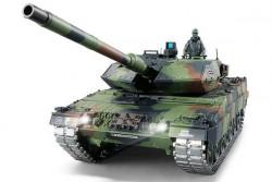 Радиоуправляемый танк Heng Long German Leopard II A6 Pro масштаб 1:16 2.4G - 3889-1Pro V6.0
