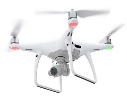 Квадрокоптер DJI Phantom 4 PRO - купить в Москве дрон с камерой в магазине COPTERDRONE