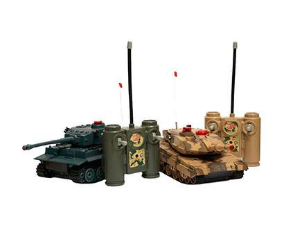 Танковый бой Huan Qi HQ508 Tiger vs Leopard масштаб 1:32