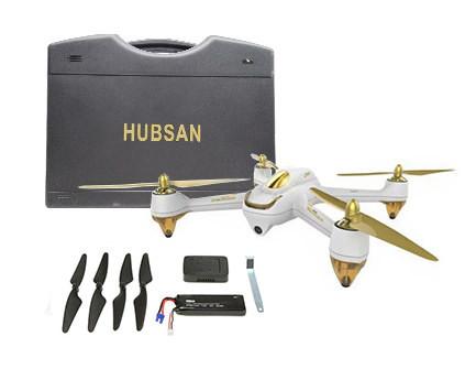 Квадрокоптер Hubsan H501S Pro Combo - купить недорого в Москве в интернет-магазине