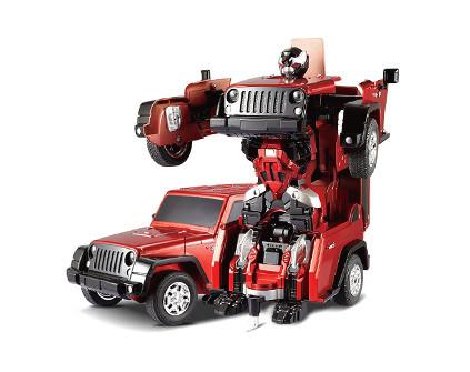Радиоуправляемый робот-трансформер JQ Troopers Crazy TT665 - купить недорого в Москве в интернет-магазине