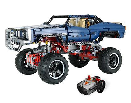 Радиоуправляемый конструктор Монстр Трак 4x4 Crawler Lepin Technics 20011 - купить недорого в Москве в интернет-магазине