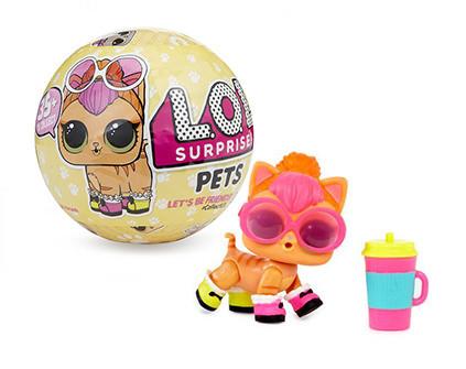 Кукла-сюрприз в шаре LOL Surprise Серия 3 Pets 1 шт - купить недорого в Москве в интернет-магазине