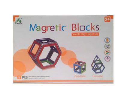 Магнитный конструктор Magnetic Blocks 8 деталей - купить недорого в Москве в интернет-магазине