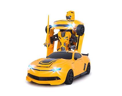 Радиоуправляемый робот-трансформер MZ Chevrolet Camaro 1:14 2.4G MZ-2314K - купить недорого в Москве в интернет-магазине