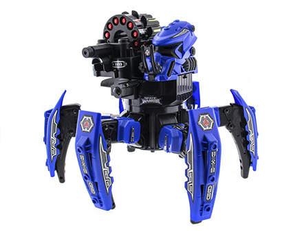 Купить робот-паук Space Warrior Blue Rocket - купить недорого в Москве в интернет-магазине