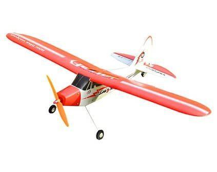 Самолет EasySky Piper J3 Cub White Edition - купить недорого в Москве в интернет-магазине