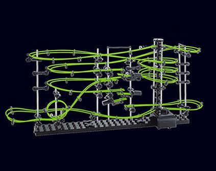 Конструктор SpaceRail 3-231-3G космические горки - купить недорого в Москве в интернет-магазине