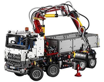 Конструктор грузовик Mercedes-Benz AROCS 3245 Lepin Technics 20005 - купить недорого в Москве в интернет-магазине
