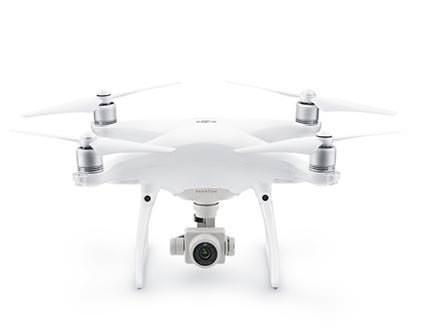 Квадрокоптер DJI Phantom 4 Advanced - купить в Москве дрон с камерой и монитором