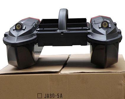 Радиоуправляемый катамаран Jabo 5A 10A для рыбалки - купить недорого в Москве в интернет-магазине
