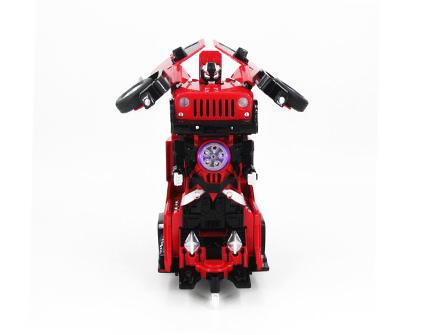 Радиоуправляемый робот-трансформер Jeep Rubicon Red 1:14 2329PF - купить недорого в Москве в интернет-магазине