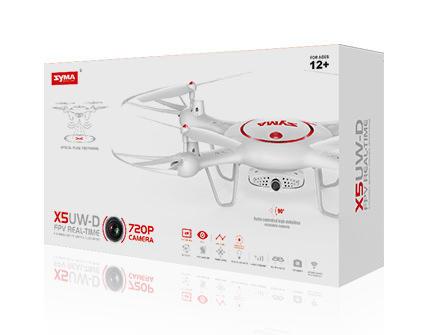 Квадрокоптер Syma X5UW-D - купить недорого в Москве в интернет-магазине