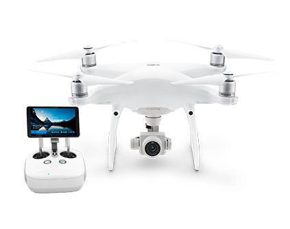 Квадрокоптер DJI Phantom 4 PRO Plus - купить в Москве  дрон с монитором