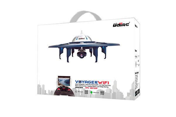 Квадрокоптер UdiRC U845 WiFi Voyager