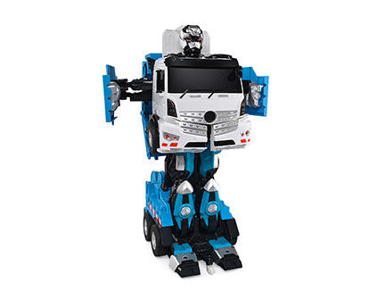 Радиоуправляемый робот-трансформер Jia Qi Мусоровоз TT676 - купить недорого в Москве в интернет-магазине