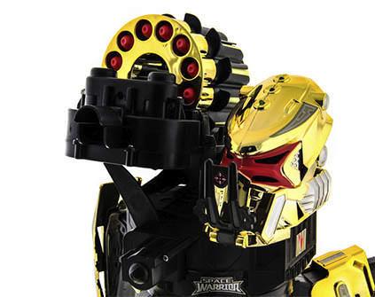 Купить робот-паук Space Warrior Gold Rocket - купить недорого в Москве в интернет-магазине