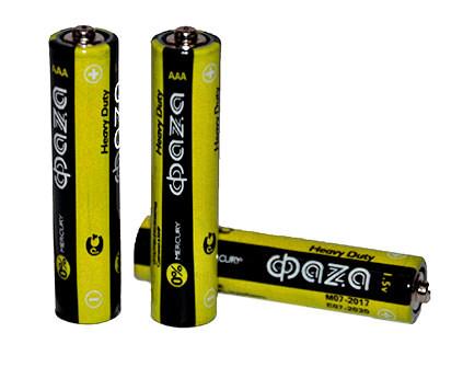 Комплект батареек Фаза AAA для пульта управления (4 шт.) - купить недорого в Москве в интернет-магазине