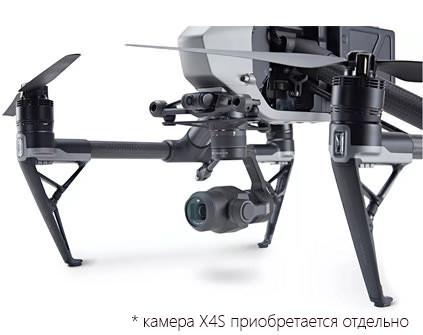 Квадрокоптер DJI Inspire 2 - купить в Москве, цена и характеристики
