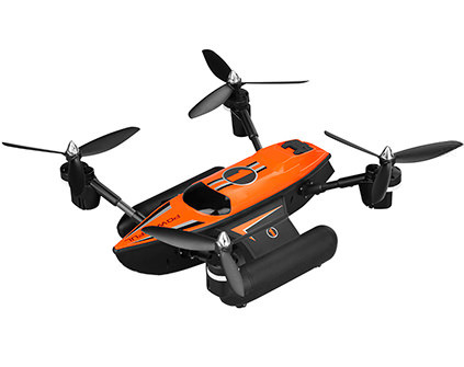 Квадрокоптер WLToys Q353 Triphibian - купить недорого в Москве в интернет-магазине