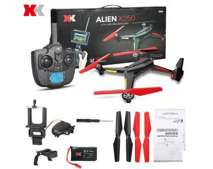 Купить квадрокоптер XK Alien X250B в Москве